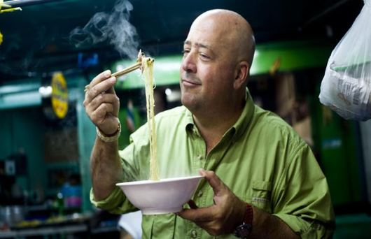 Meet the Maker: Andrew Zimmern Aims to Improve the World Through Food