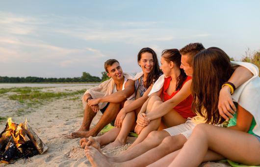 The Coolest Beaches for Bonfires