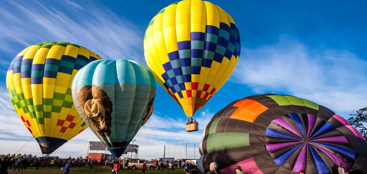 The Best Places to Hot Air Balloon in California