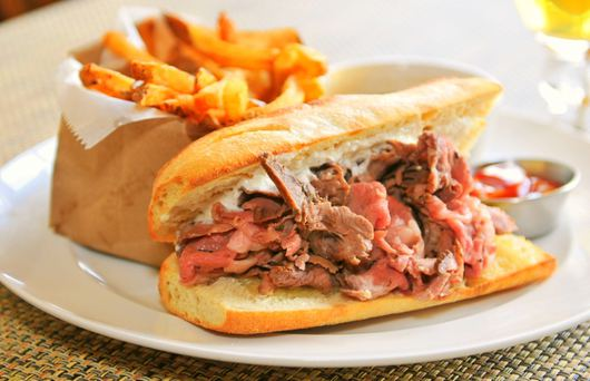 Invented in California: The French Dip Sandwich