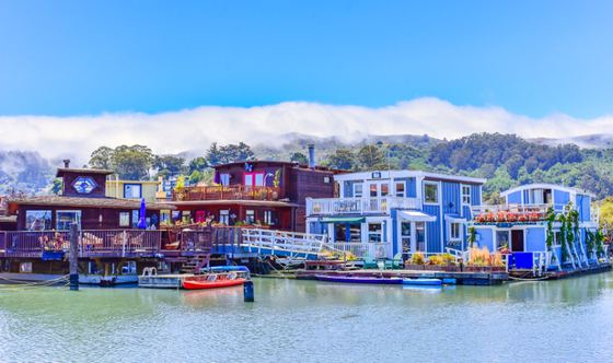 We'll All Float On: What's Up With Sausalito's Floating Homes and Houseboats?
