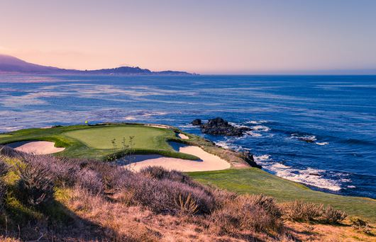 Scenic Golf Courses in the Golden State