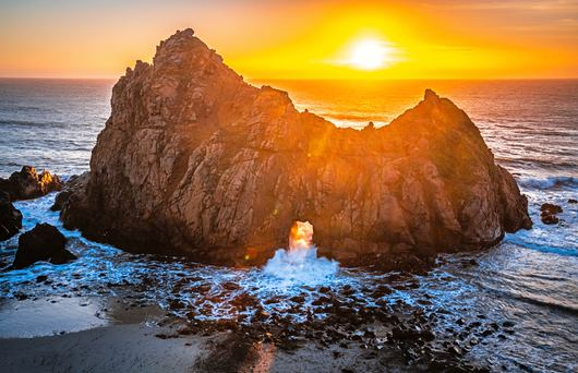 The Best Secluded Beaches in California That'll Take Your Breath Away
