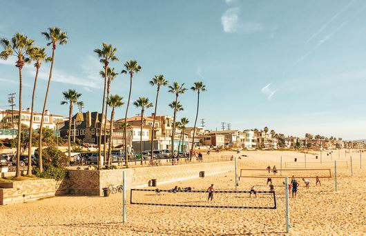 The Best Beaches to Play Volleyball in Southern California