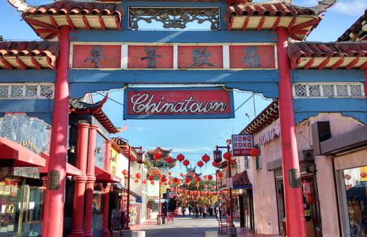 The Chinatowns of California