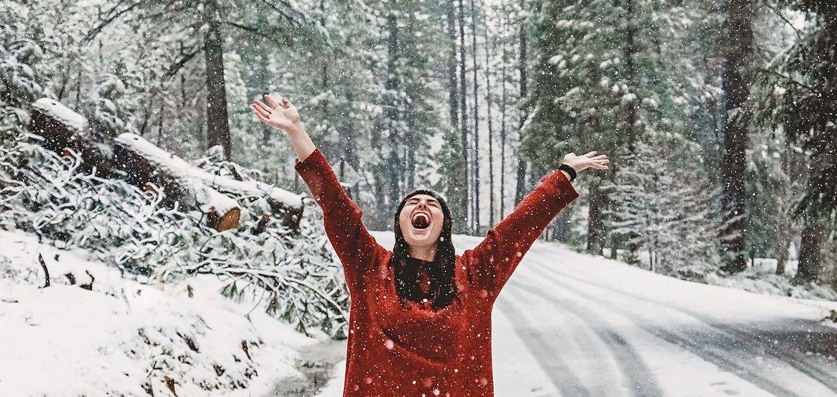 Where to Celebrate a White Christmas in California