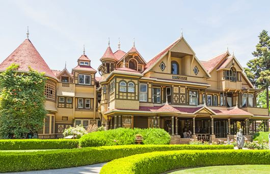 The Ghostly Story of San Jose's Haunted Winchester Mystery House