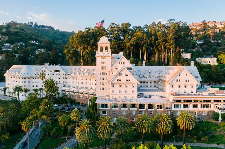 Follow us and our founder to win a Weekend Getaway at The Fairmont Spa in Berkeley!