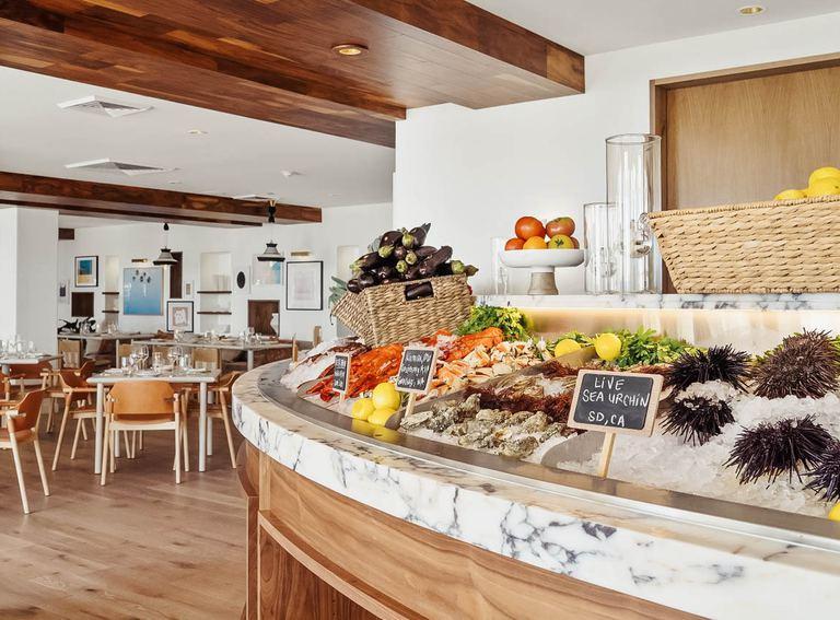 Savor epicurean delights at Serea restaurant.