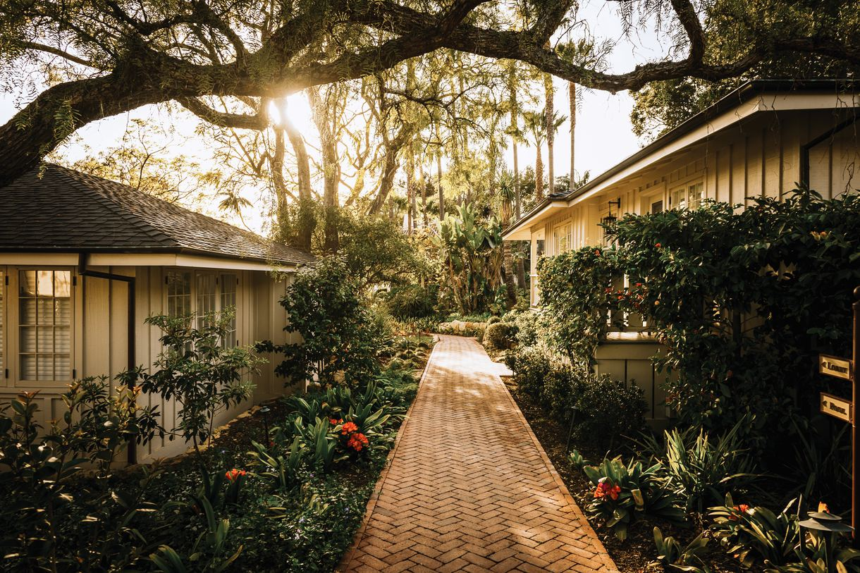 Stroll along the scenic walkways and lush gardens.
