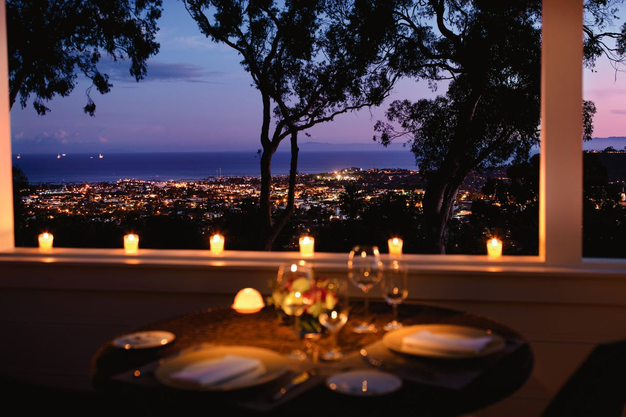 Enjoy a romantic dinner at The Dining Room and Terrace.