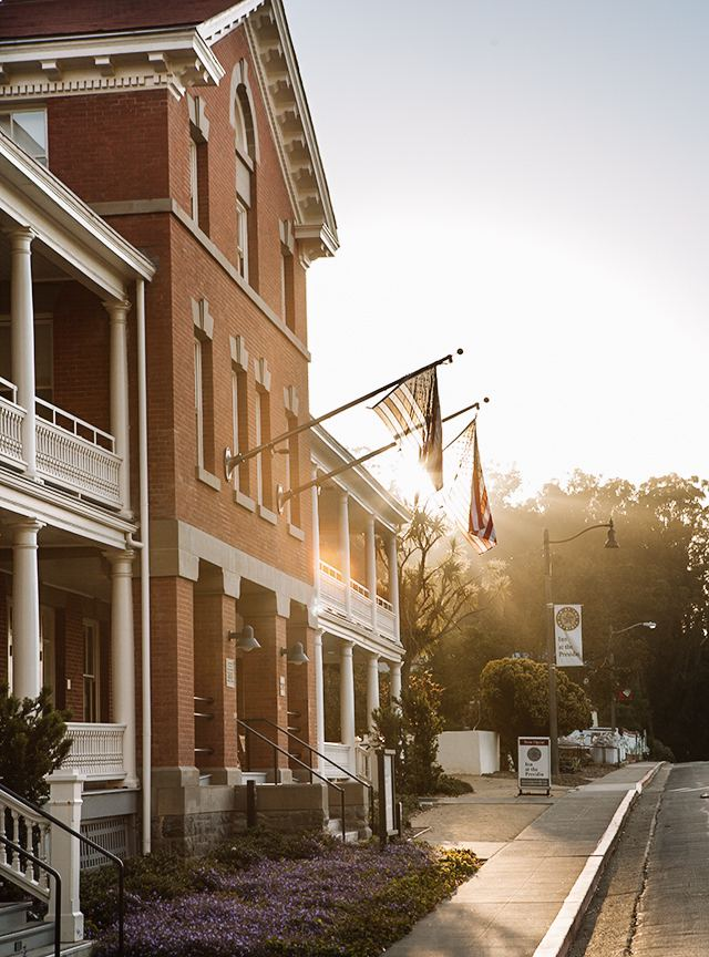 The Inn at the Presidio is steeped in history and rich in recreational opportunities.