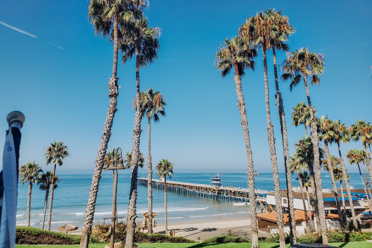 The Sea Horse Resort boasts an enviable seaside location.