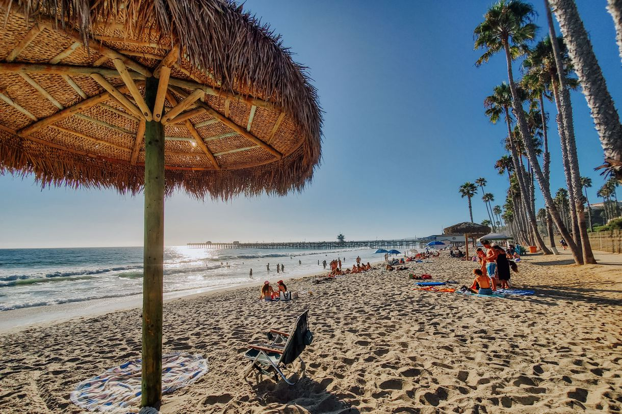 Guests can easily explore the sandy shores of San Clemente.