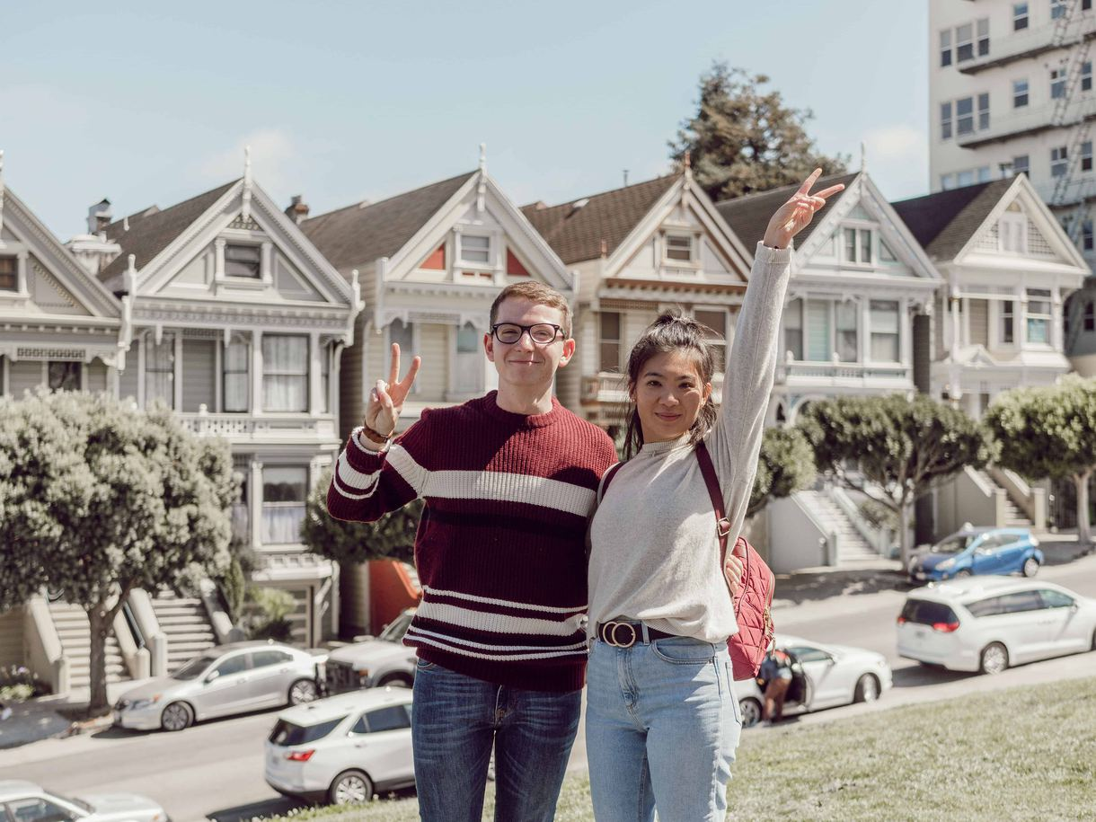 Painted Ladies, San Francisco. Photo courtesy of Mile in My Glasses.
