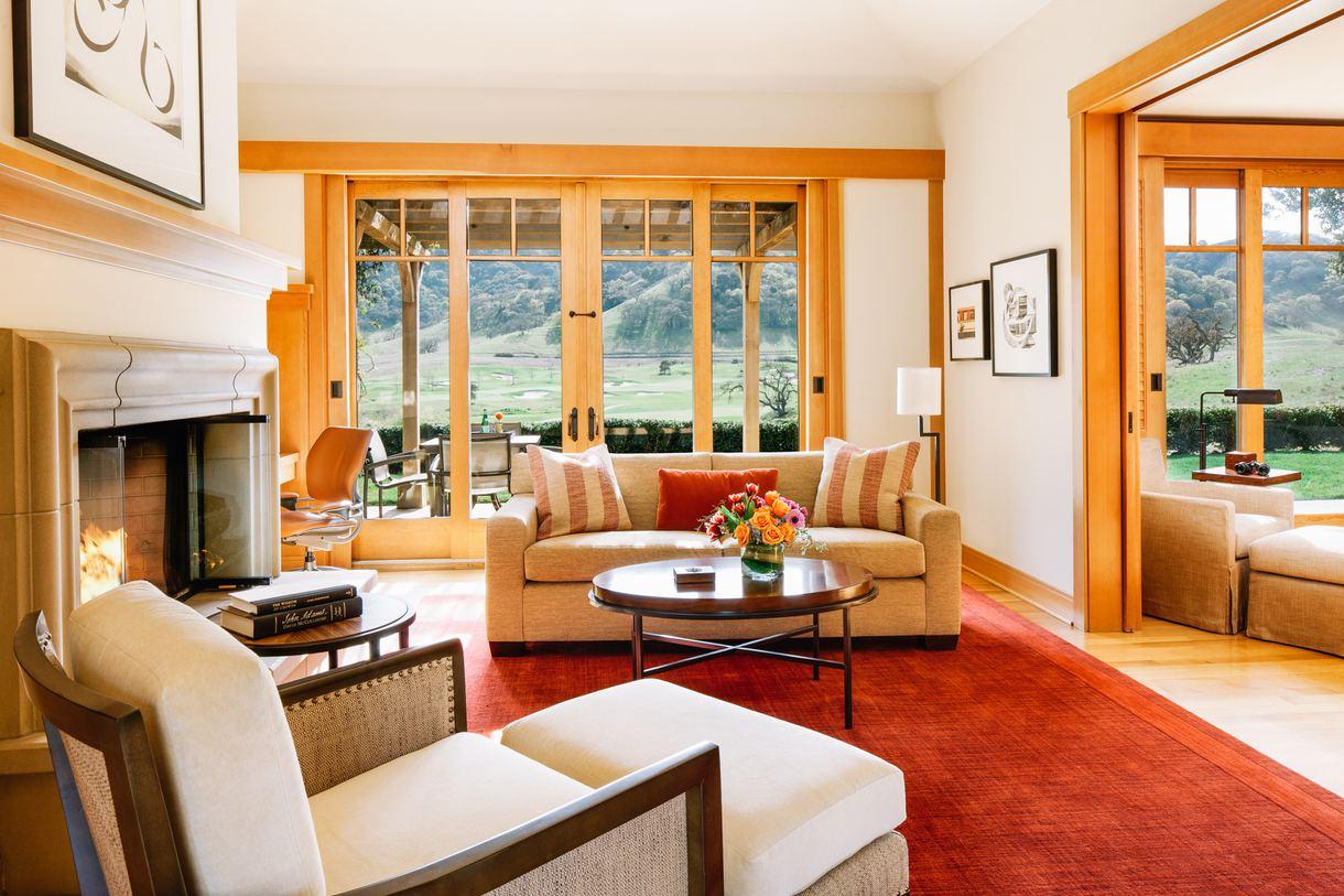 A villa living room