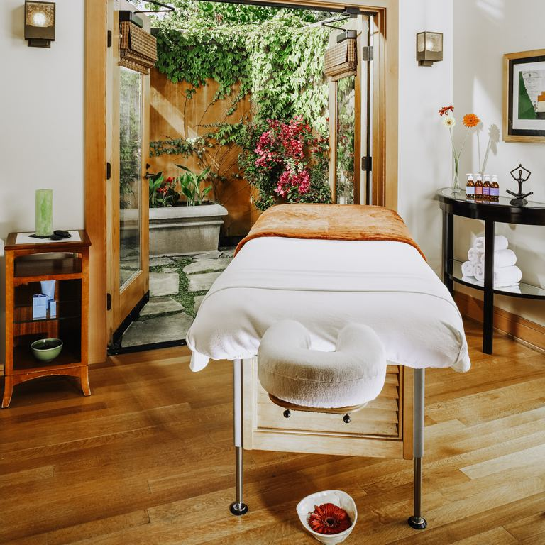 Get pampered with an aromatherapy massage.