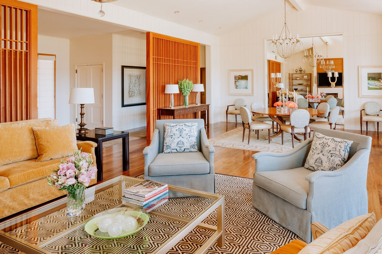 A luxury suite