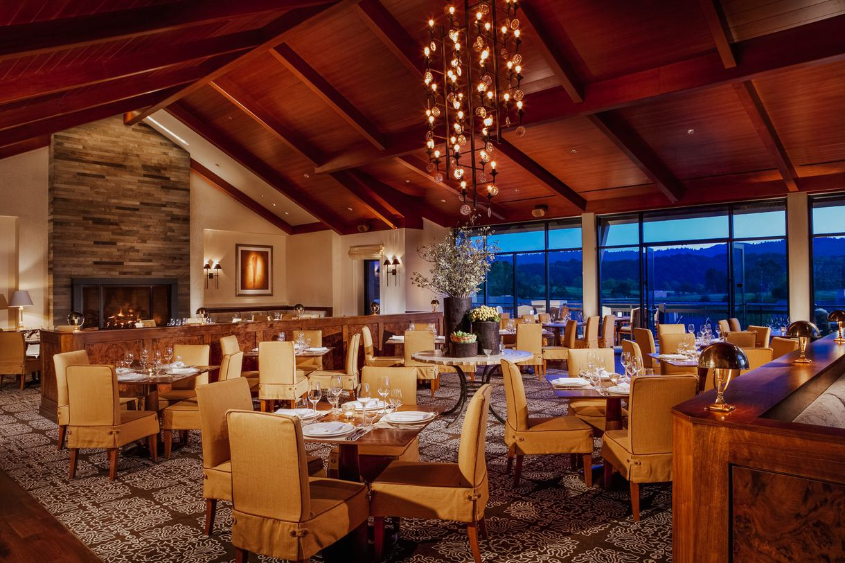 The Madera dining room