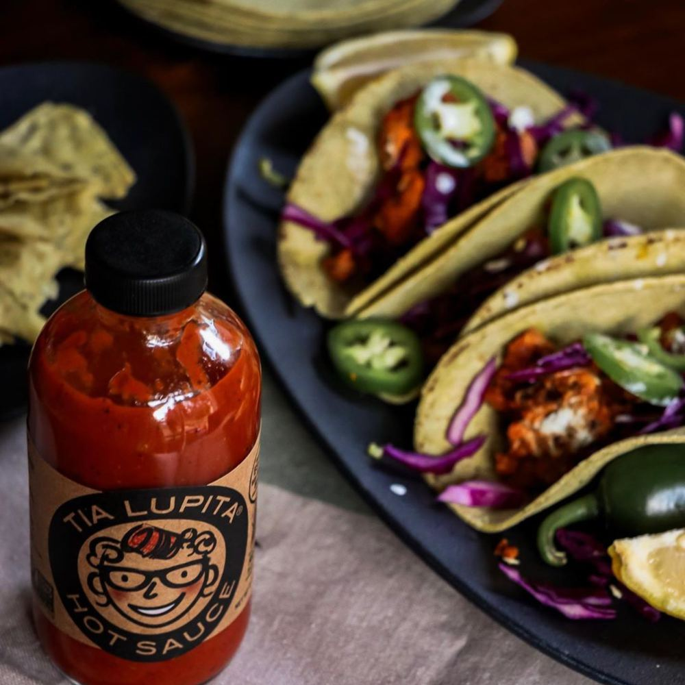 Hot Sauce served with tacos