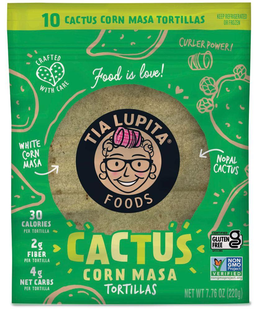 Nopal Cactus and Corn Masa Tortillas