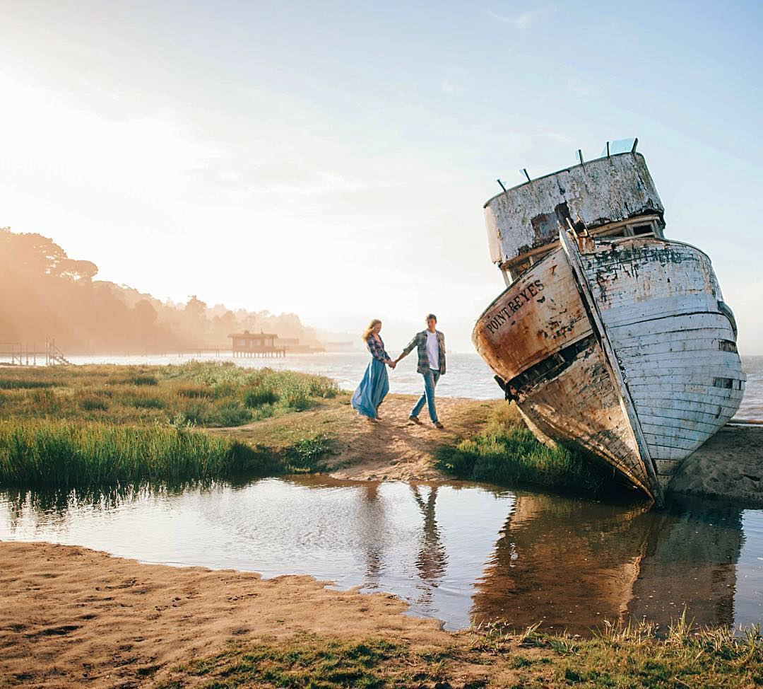 Point Reyes Shipwreck, 12783 Sir Francis Drake Boulevard, Inverness. Photo courtesy of Arina B. Photography.